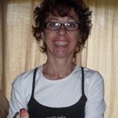 Nathalie Boillon en séance de réflexologie